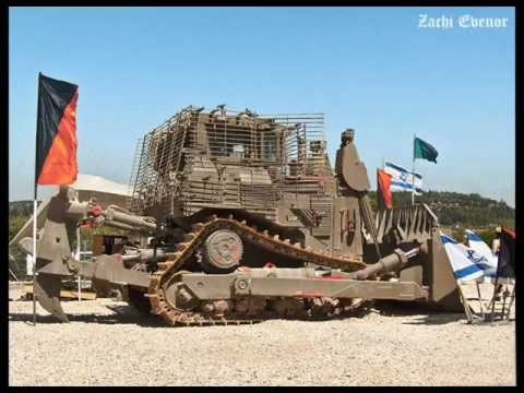 IDF D9 armored bulldozer