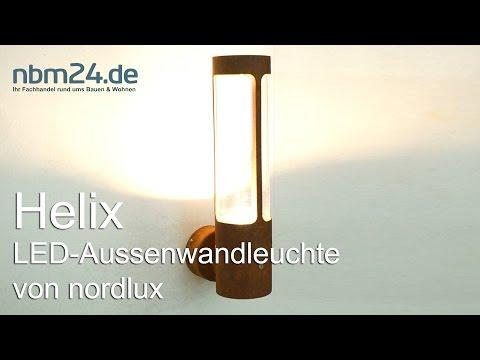 Nordlux Helix 77471038 LED Aussenleucht Corten 5701581250482