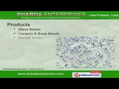 Glass Beads by Sharda Enterprises, Agra, Agra
