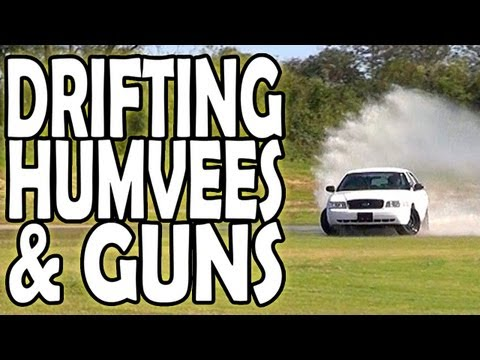 Drifting, Humvees, and Guns w/ TmarTn, FaZe Temperrr, OpTic H3CZ, and xJawz (T1G Spec Ops Vlog)
