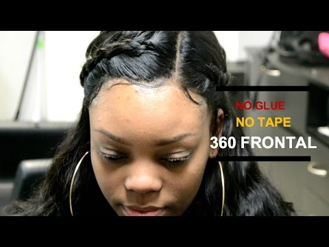 360 Lace Frontal Sew-In ▪️ Aliexpress Luvin Hair Review 💕 #SALONWORK