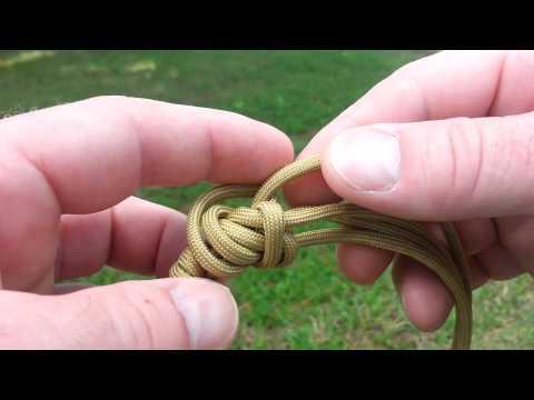 4 strand Matthew Walker knot