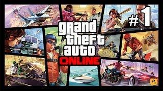 GTA ONLINE - Новая игра, Тролим нуба  #1