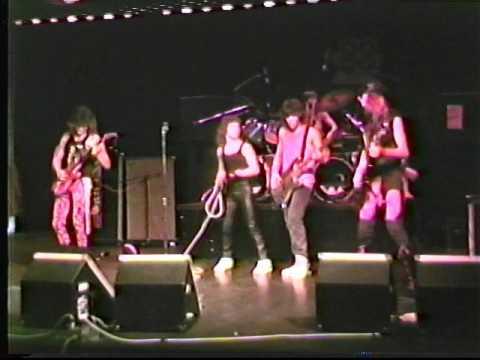 "CARL HURLEY and CRIMZON STEEL ""Revenge"" 1988 Live  Radio"