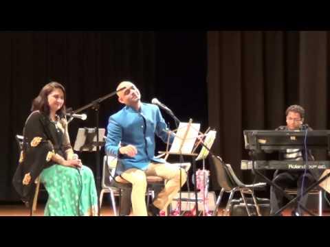 Tum Bin Jau Kaha By Rajesh Panwar Sangita Dave At Stamford Ct Us video