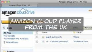 Using Amazon Cloud Player from the UK