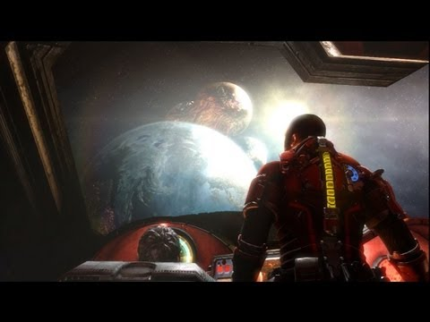 Dead Space 3 Awakened Ending(Brother Moons Are At Earth!)
