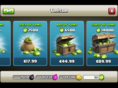 How To Get FREE UNLIMITED GEMS in Clash Of Clans !