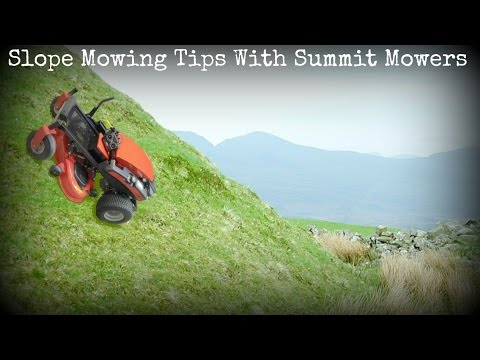 Slope Mowing with Zero-Turn Mowers