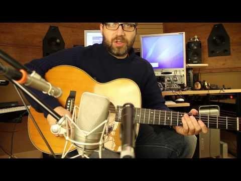 Trucos y Consejos en Estudio de Grabación.  Guitarras acústicas