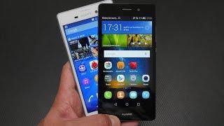 Sony Xperia M4 Aqua vs Huawei P8 Lite (Greek)