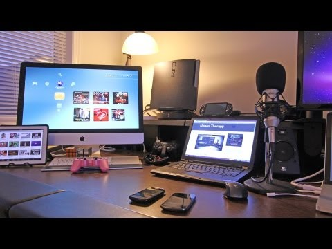 Best Gaming Setup / Desk Setup (Room Tour) 2012