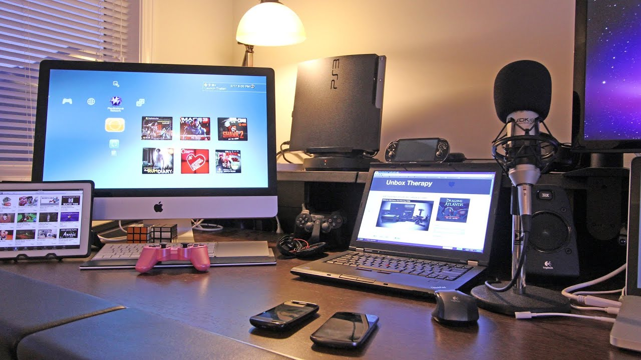 Best Gaming Setup Desk Setup Room Tour 2012 Youtube