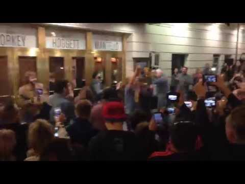 Cast of The Last Ship sings