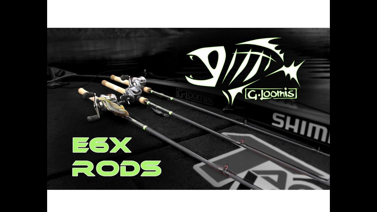 Jared Lintner Field Testing The NEW G  Loomis E6X Rods w  Dan Thorburn