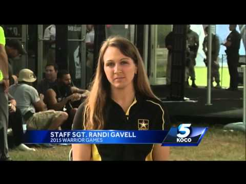 Oklahoma is well represented in Warrior Games