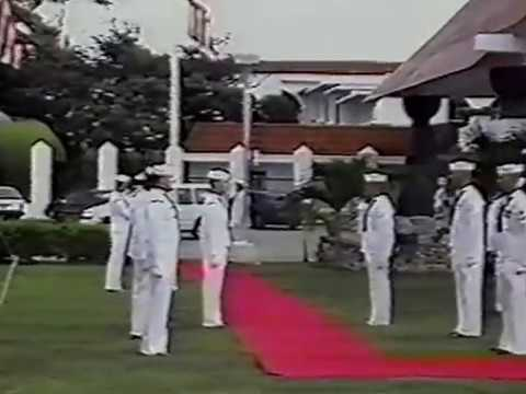 CBMU-302 Decommissioning Ceremony, Agana Guam, 18 July 1994, Part 1 of 3