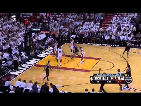 LeBron James Too Young For Paul Pierce & Kevin Garnett: Nets vs Heat Game 1