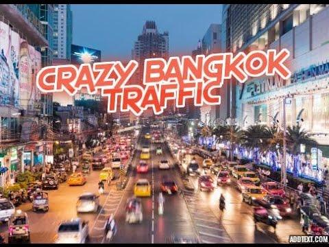 Crazy Bangkok Traffic,Unbelievable Sights On Sukhumvit Road Bangkok (Part 2)