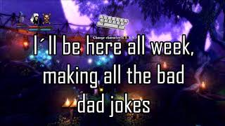 Bad dad jokes - Trine; pt 8