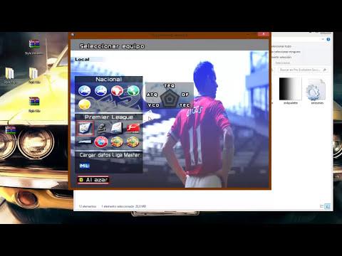 GRAFICOS HD PARA PES6!!! | Tutoriales Pes6 - PV