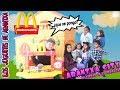 McDonalds en mi ciudad ARANTXA CITY y con mi nuevo Ferrari🍔🚗Los juguetes de Arantxa