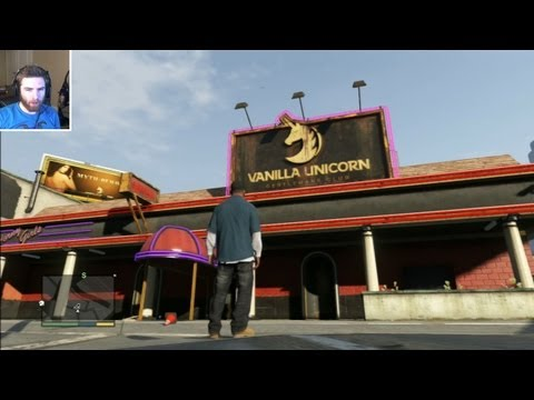 GTA 5 STRIP CLUB AND LAP DANCE GAMEPLAY (GTA V) by Whiteboy7thst