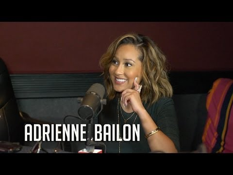 Adrienne Bailon has girl chat with Angie Martinez & talks new movie with Ja Rule!