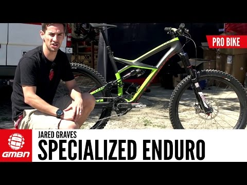 Jared Graves' Specialized Enduro   Pro Bike
