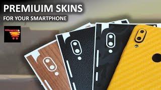 Premium Mobile Skins for RealMe 3 Pro & Redmi Note 7 - WrapCart   TechRJ