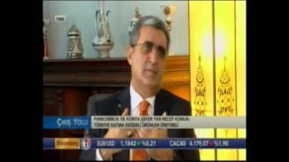 Pankobirlik Genel Başkanı Recep Konuk Bloomberg TV Çıkış Yolu Programına Katıldı