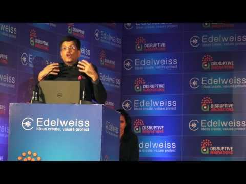 India Minister of New & Renewable Energy, Piyush Goyal, Presentation At Investment Conference