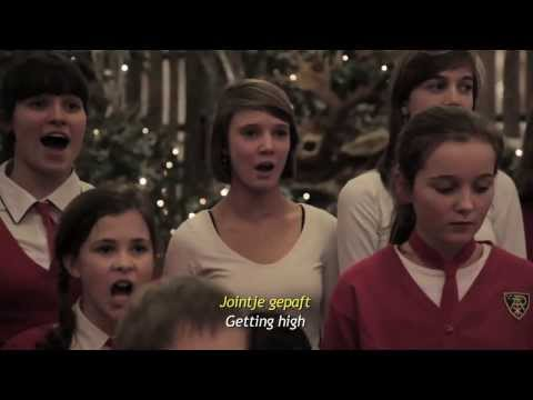 Kids Singing bad christmas song
