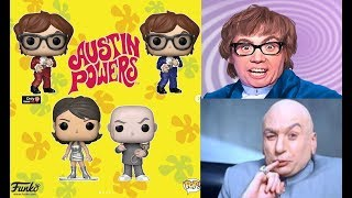 AUSTIN POWERS FUNKO POP COLLECTION & MORE ON FUNKO NEWS