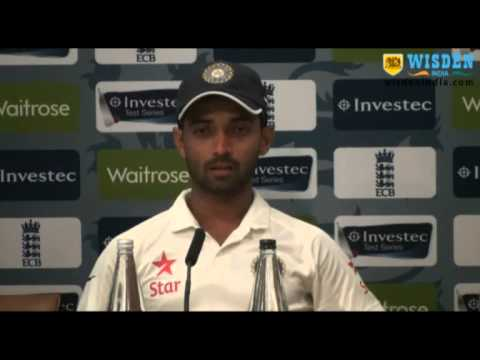 Ajinkya Rahane PC, Day 1, Lords