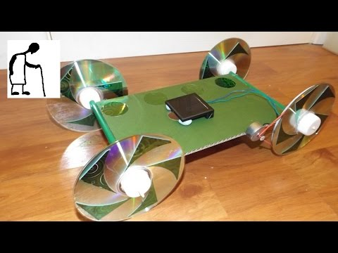Solar Powered Car for Anthony Belcher