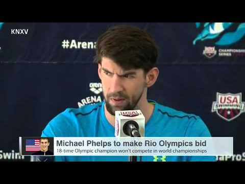 Michael Phelps confirms he's aiming for fifth Olympics in Rio