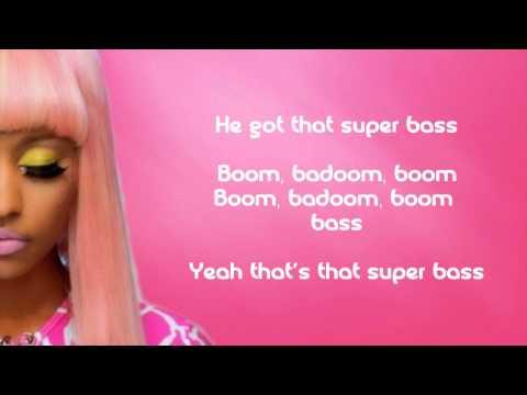 Nicki Minaj - Super Bass [Lyrics]