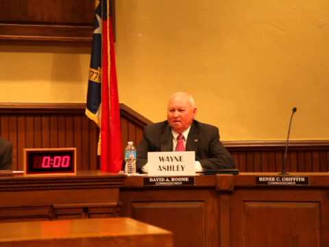 Iredell County Sheriff Candidate Wayne Ashley take on medical marijuana.