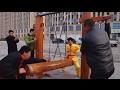 Iron Crotch: Chinese Kung Fu master demonstrates 'ball-breaking stamina'