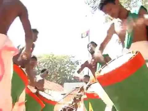 Sudalai Madan - Kerala Singari Melam, Chenda Melam video
