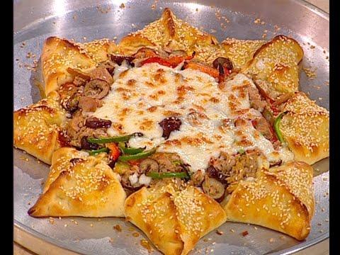 طريقة عمل بيتزا الورده على طريقة الشيف #هاله_فهمي من برنامج #البلدى_يوكل #فوود