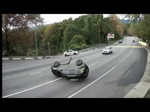 Многоражды на Кавказе Many Road Accidents