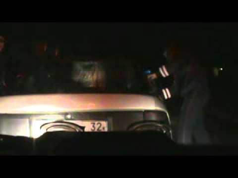 Пьяная беременная брянская автоледи сбила полицейских