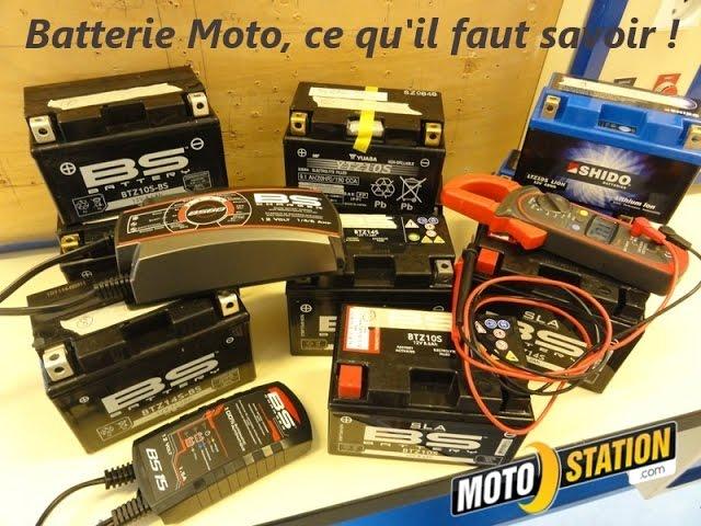 Vid�o Batterie moto scooter : Entretien, recharge, contr�le... le guide !