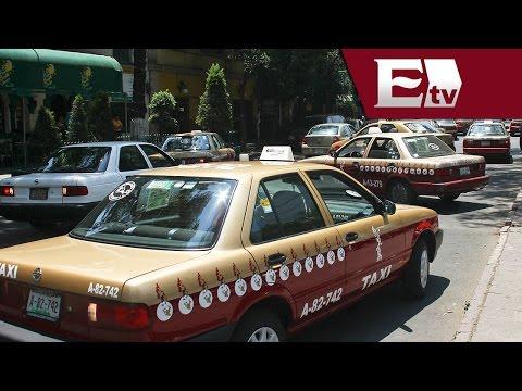 Nuevo color en taxis del DF / Vianey Esquinca