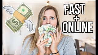 Testing FAST Ways To Make Money Online