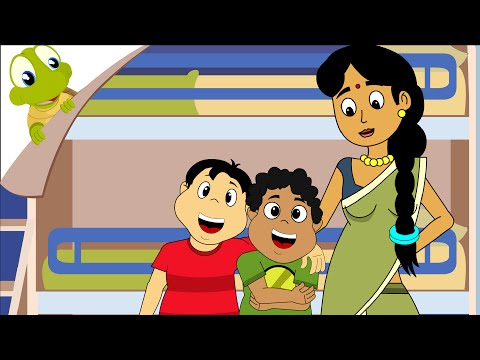 Chunnu Munnu The Do Bhai - Hindi Nursery Rhyme video