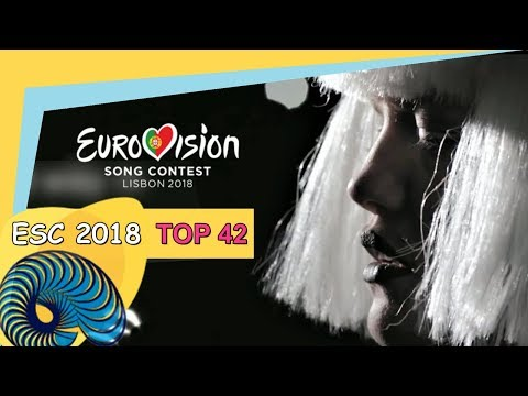 Eurovision 2018: My top 41 [with comments]