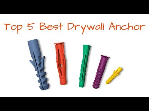 How to Hang item with Best Drywall Anchor - How to Install Drywall Anchor. All About Drywall Anchors